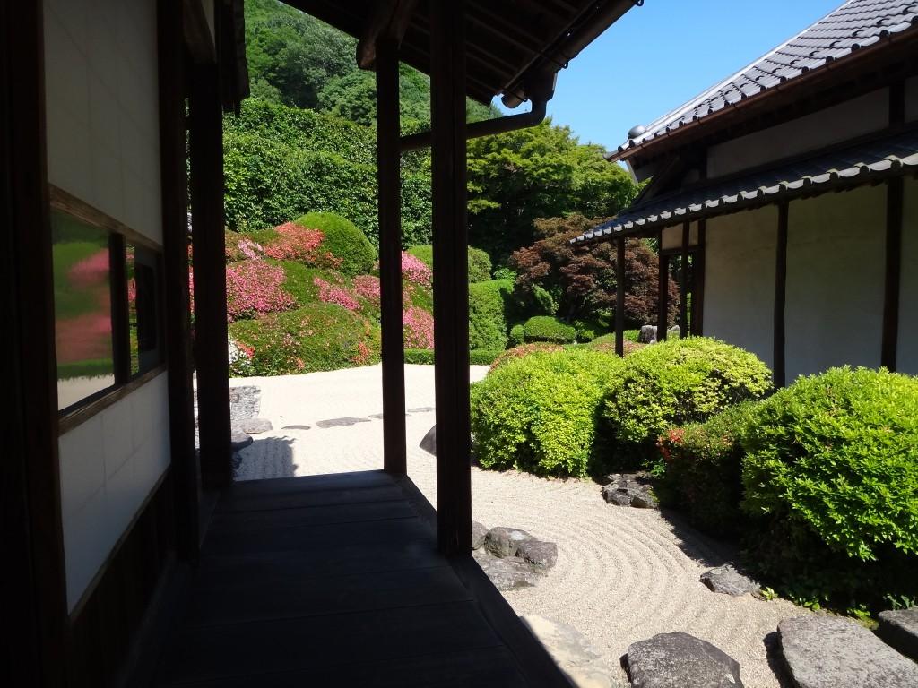 中庭の写真