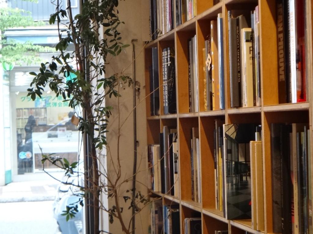 本棚の風景