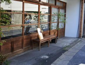 町屋を改修したカフェもたくさんあります