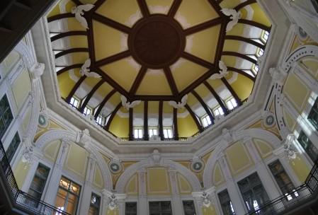 建設当初の形に復元されたドーム