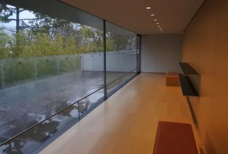 眺めのよい3階の休憩室