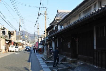 矢掛町(岡山県)の歴史的な町並み