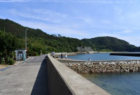 本島の風景
